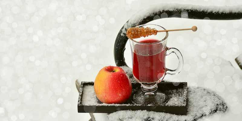 Kirsch-Rotwein-Tee