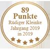 89 Punkte - Rüdiger Kleinke Jahrgang 2019 in 2019