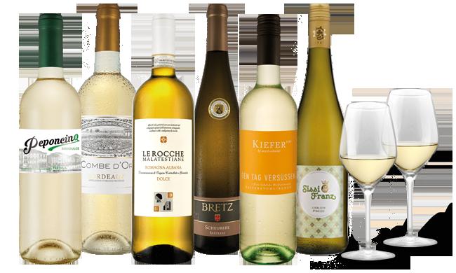 Ebrosia liebliches Weißwein-Paket