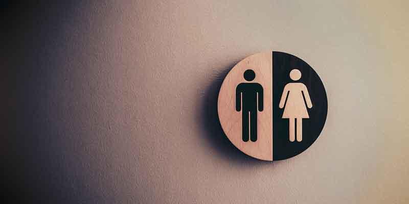 Symbol Mann/Frau