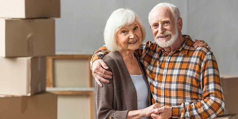 Senioren ziehen um