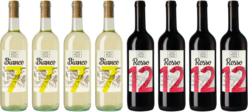 8x Wein im Mixpaket