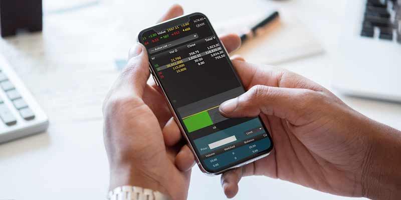 Trading am Smartphone