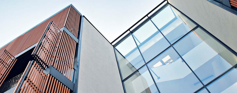 Modernes Gebäude