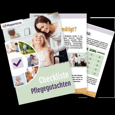 Checkliste Pflegegutachten