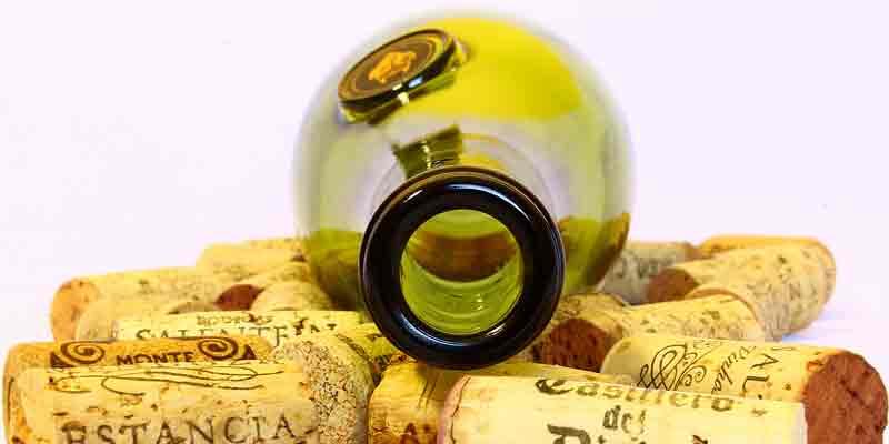 Weinflasche & Korken