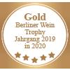 Auszeichnung Gold Berliner Wein Trophy Jahrgang 2019 in 2020 für Torrevento Primitivo Nuda Verita