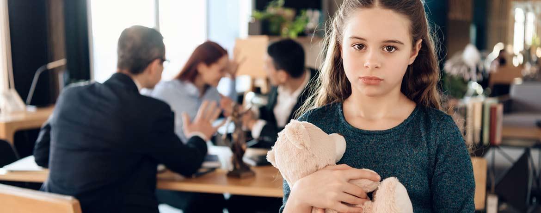 Ärger wegen Trennung, Sorgerecht oder Unterhalt?