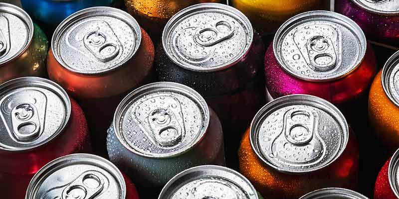 Verpackungsart: Getränke in Dosen