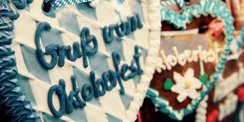 Lebkuchen mit Schriftzug