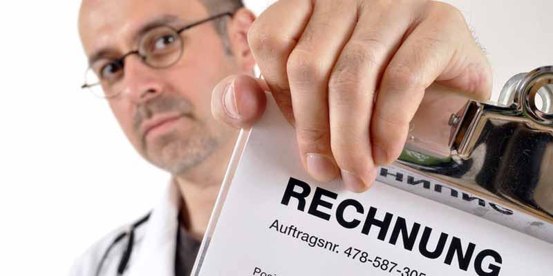 Rechnung vom Arzt