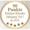 90 Punkte - Rüdiger Kleinke Jahrgang 2017 in 2021