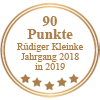 90 Punkte - Rüdiger Kleinke Jahrgang 2018 in 2019