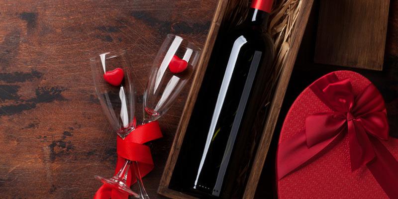 Rotwein für verliebte Paare