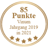 85 Punkte - Vinum Jahrgang 2019 in 2021