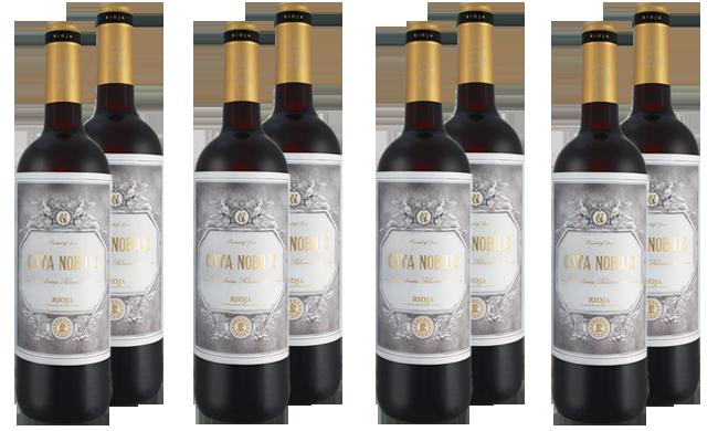 Embrosia Bodegas Nubori Rioja Cata Nobilis Paket
