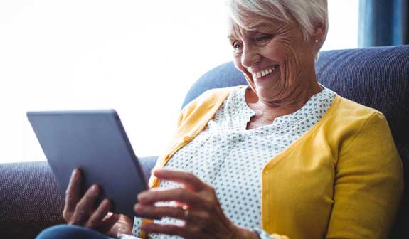 Senioren-Tablet