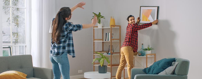 Schützen Sie den Ort, an dem Sie sich am wohlsten fühlen mit einer Hausratversicherung