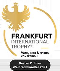 """Hawesko ist """"Bester Online-Weinfachhändler"""" - Frankfurt International Trophy 2021"""