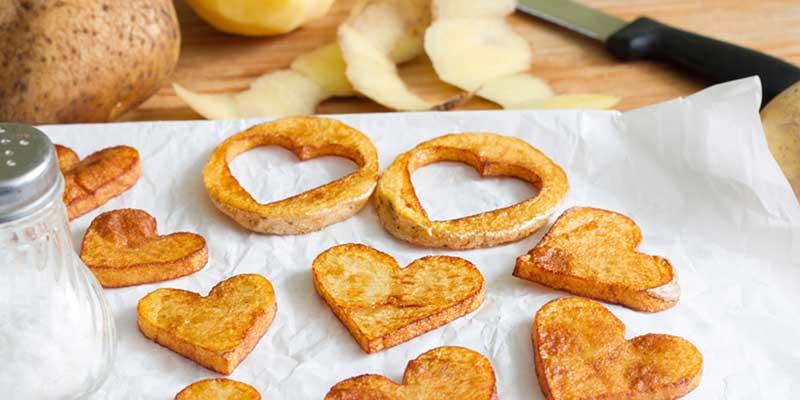 Kartoffelherzen