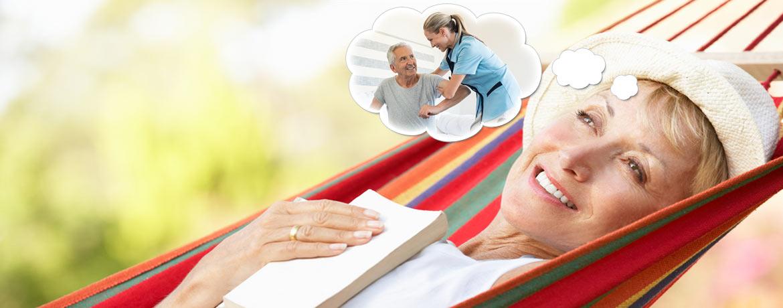 Urlaubsvertretung für pflegende Angehörige