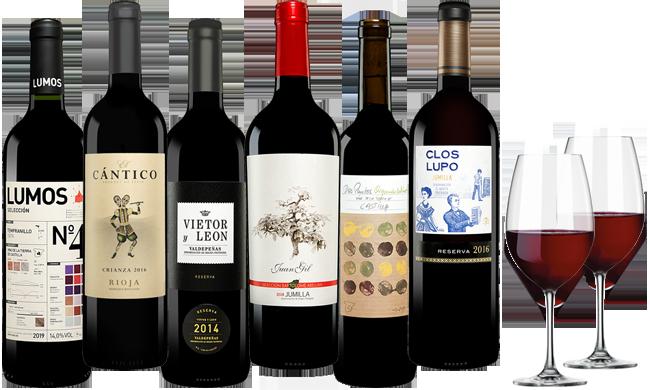 Vinos Mixpaket Spanien