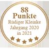 88 Punkte - Rüdiger Kleinke Jahrgang 2020 in 2021