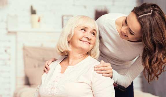 Stundenweise Seniorenbetreuung