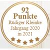 92 Punkte - Rüdiger Kleinke Jahrgang 2020 in 2021