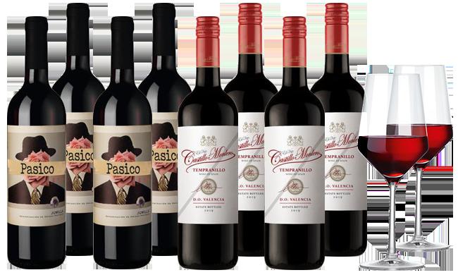 Hawesko Spanien Rotwein-Mix