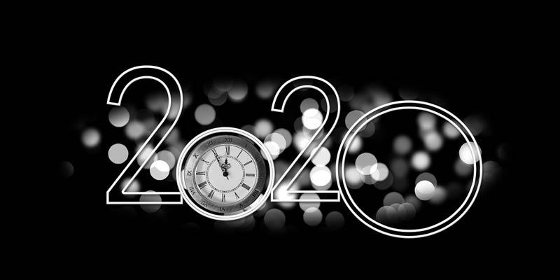 Countdown zum Jahreswechsel 2020