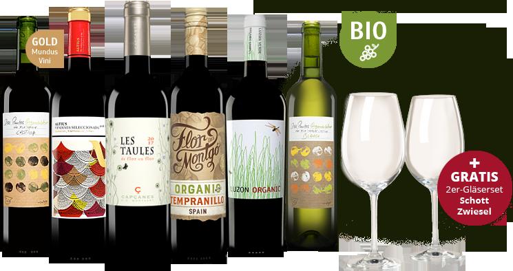 Vinos Biowein-Paket