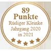 89 Punkte - Rüdiger Kleinke Jahrgang 2020 in 2021