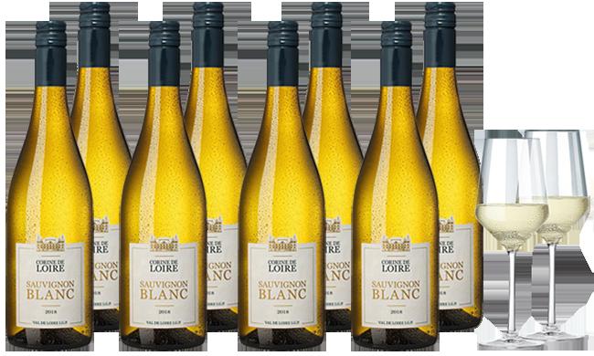 Hawesko Corine de Loire Sauvignon Blanc