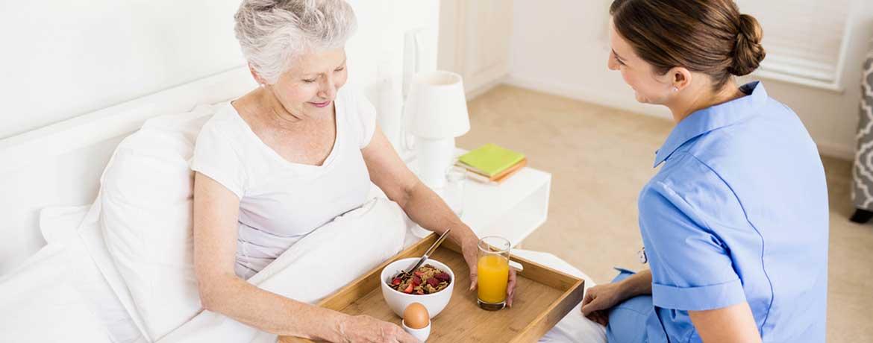 Liebevolle Pflege zu Hause!