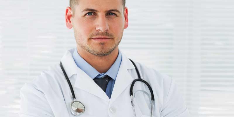 Arzt im Kittel