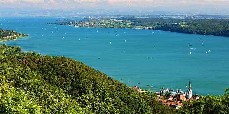 Landschaft am See