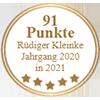 91 Punkte - Rüdiger Kleinke Jahrgang 2020 in 2021